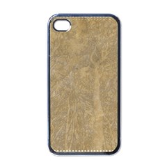 Abstract Forest Trees Age Aging Apple Iphone 4 Case (black)