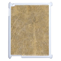 Abstract Forest Trees Age Aging Apple Ipad 2 Case (white) by Nexatart