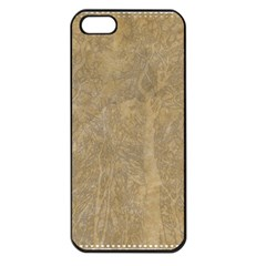 Abstract Forest Trees Age Aging Apple Iphone 5 Seamless Case (black) by Nexatart
