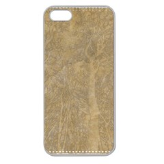 Abstract Forest Trees Age Aging Apple Seamless Iphone 5 Case (clear)