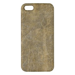 Abstract Forest Trees Age Aging Iphone 5s/ Se Premium Hardshell Case by Nexatart