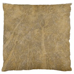 Abstract Forest Trees Age Aging Standard Flano Cushion Case (two Sides) by Nexatart