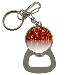 Effect Pattern Brush Red Orange Button Necklaces