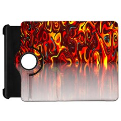 Effect Pattern Brush Red Orange Kindle Fire Hd 7