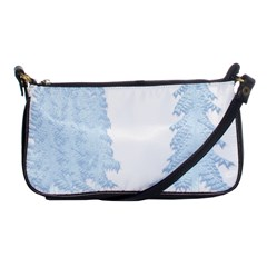 Winter Snow Trees Forest Shoulder Clutch Bags