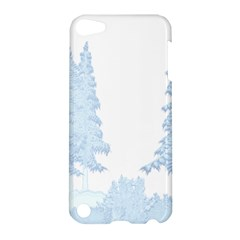 Winter Snow Trees Forest Apple Ipod Touch 5 Hardshell Case by Nexatart