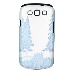Winter Snow Trees Forest Samsung Galaxy S Iii Classic Hardshell Case (pc+silicone) by Nexatart