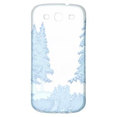 Winter Snow Trees Forest Samsung Galaxy S3 S Iii Classic Hardshell Back Case by Nexatart