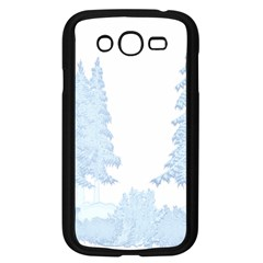 Winter Snow Trees Forest Samsung Galaxy Grand Duos I9082 Case (black)