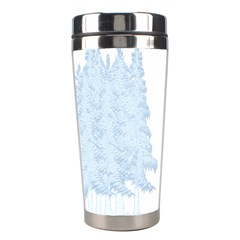 Winter Snow Trees Forest Stainless Steel Travel Tumblers by Nexatart