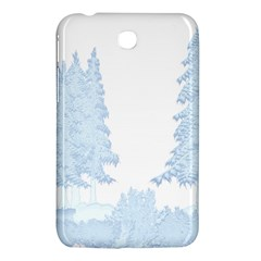 Winter Snow Trees Forest Samsung Galaxy Tab 3 (7 ) P3200 Hardshell Case