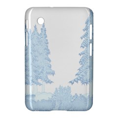 Winter Snow Trees Forest Samsung Galaxy Tab 2 (7 ) P3100 Hardshell Case  by Nexatart