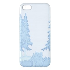 Winter Snow Trees Forest Iphone 5s/ Se Premium Hardshell Case