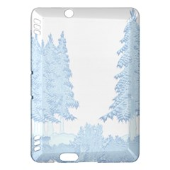 Winter Snow Trees Forest Kindle Fire Hdx Hardshell Case