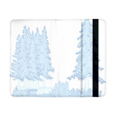 Winter Snow Trees Forest Samsung Galaxy Tab Pro 8 4  Flip Case