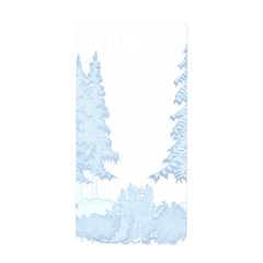 Winter Snow Trees Forest Samsung Galaxy Alpha Hardshell Back Case by Nexatart