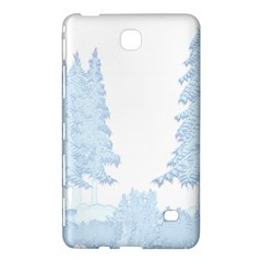 Winter Snow Trees Forest Samsung Galaxy Tab 4 (8 ) Hardshell Case  by Nexatart