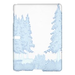 Winter Snow Trees Forest Samsung Galaxy Tab S (10 5 ) Hardshell Case  by Nexatart
