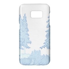Winter Snow Trees Forest Samsung Galaxy S7 Hardshell Case