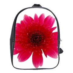 Flower Isolated Transparent Blossom School Bags(large)  by Nexatart