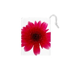 Flower Isolated Transparent Blossom Drawstring Pouches (xs)