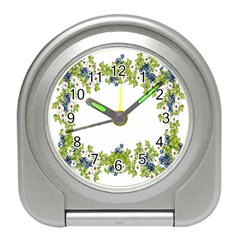 Birthday Card Flowers Daisies Ivy Travel Alarm Clocks