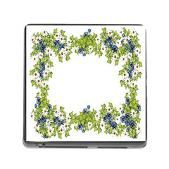 Birthday Card Flowers Daisies Ivy Memory Card Reader (square) by Nexatart