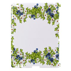 Birthday Card Flowers Daisies Ivy Apple Ipad 3/4 Hardshell Case (compatible With Smart Cover) by Nexatart
