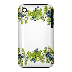 Birthday Card Flowers Daisies Ivy Iphone 3s/3gs by Nexatart