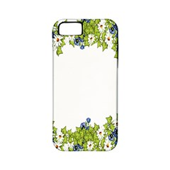 Birthday Card Flowers Daisies Ivy Apple Iphone 5 Classic Hardshell Case (pc+silicone) by Nexatart