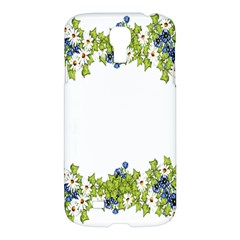 Birthday Card Flowers Daisies Ivy Samsung Galaxy S4 I9500/i9505 Hardshell Case