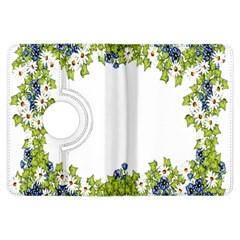 Birthday Card Flowers Daisies Ivy Kindle Fire Hdx Flip 360 Case by Nexatart
