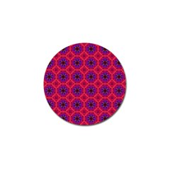 Retro Abstract Boho Unique Golf Ball Marker by Nexatart