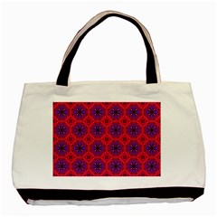 Retro Abstract Boho Unique Basic Tote Bag (two Sides)