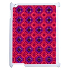 Retro Abstract Boho Unique Apple Ipad 2 Case (white) by Nexatart