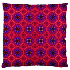 Retro Abstract Boho Unique Large Cushion Case (two Sides) by Nexatart