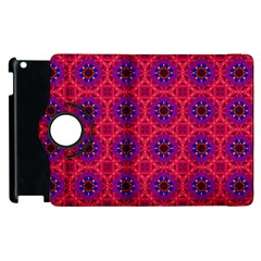 Retro Abstract Boho Unique Apple Ipad 2 Flip 360 Case by Nexatart