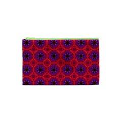 Retro Abstract Boho Unique Cosmetic Bag (xs) by Nexatart