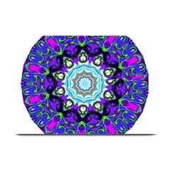 Graphic Isolated Mandela Colorful Plate Mats by Nexatart