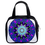 Graphic Isolated Mandela Colorful Classic Handbags (2 Sides) Front