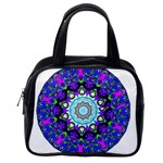 Graphic Isolated Mandela Colorful Classic Handbags (2 Sides) Back