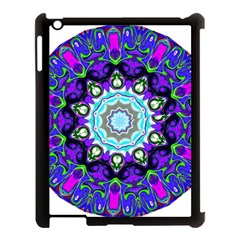 Graphic Isolated Mandela Colorful Apple Ipad 3/4 Case (black) by Nexatart