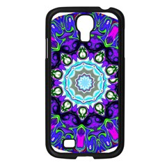 Graphic Isolated Mandela Colorful Samsung Galaxy S4 I9500/ I9505 Case (black)