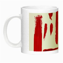 Paint Paint Smear Splotch Texture Night Luminous Mugs