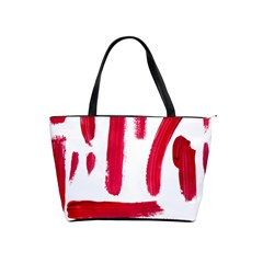 Paint Paint Smear Splotch Texture Shoulder Handbags