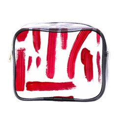 Paint Paint Smear Splotch Texture Mini Toiletries Bags