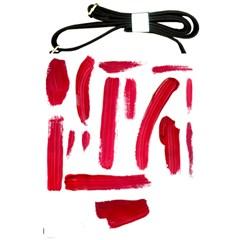 Paint Paint Smear Splotch Texture Shoulder Sling Bags by Nexatart