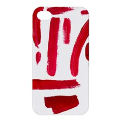 Paint Paint Smear Splotch Texture Apple Iphone 4/4s Hardshell Case