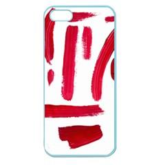 Paint Paint Smear Splotch Texture Apple Seamless Iphone 5 Case (color)