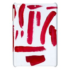 Paint Paint Smear Splotch Texture Apple Ipad Mini Hardshell Case by Nexatart